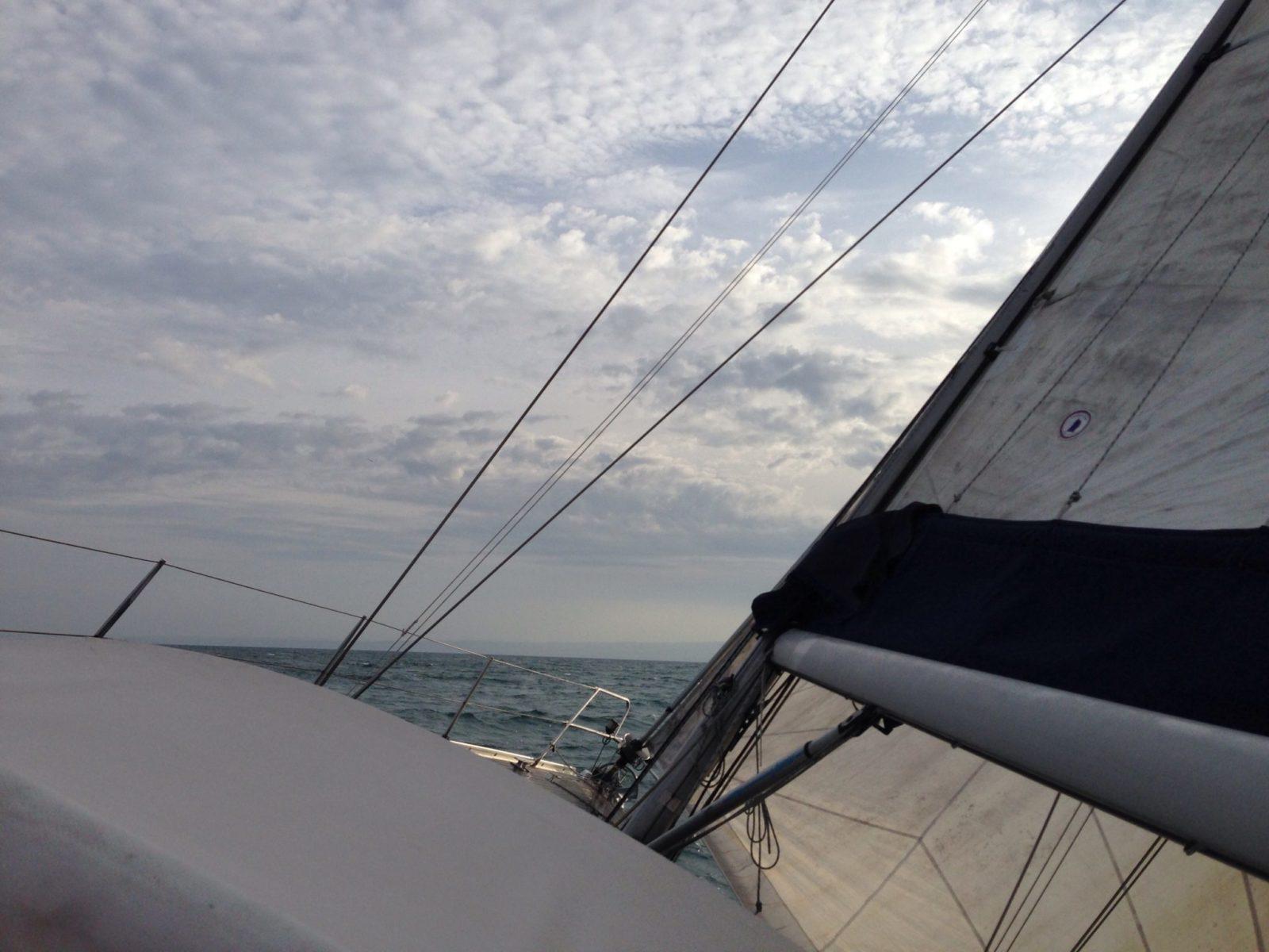 """""""Una bella veleggiata"""" 2° giorno di trasferimento Chioggia – Imperia"""