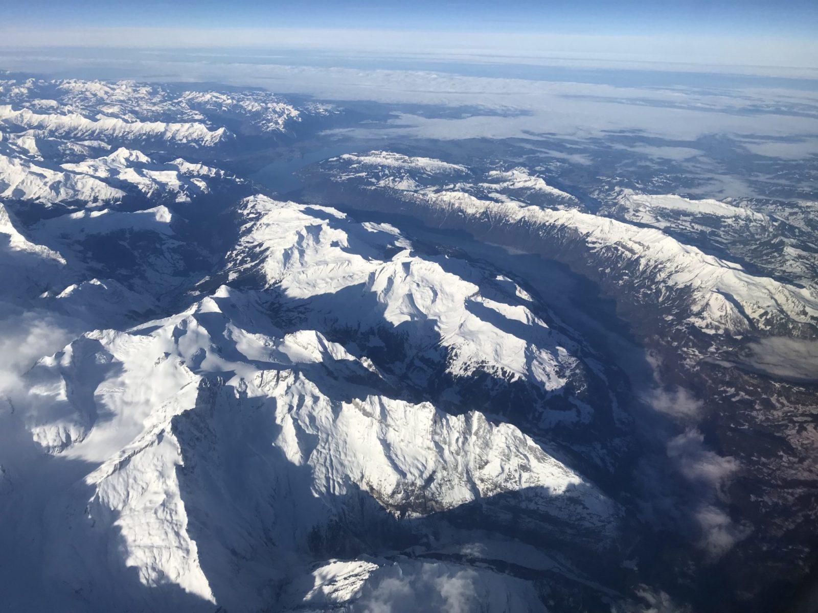 In volo verso Bergamo