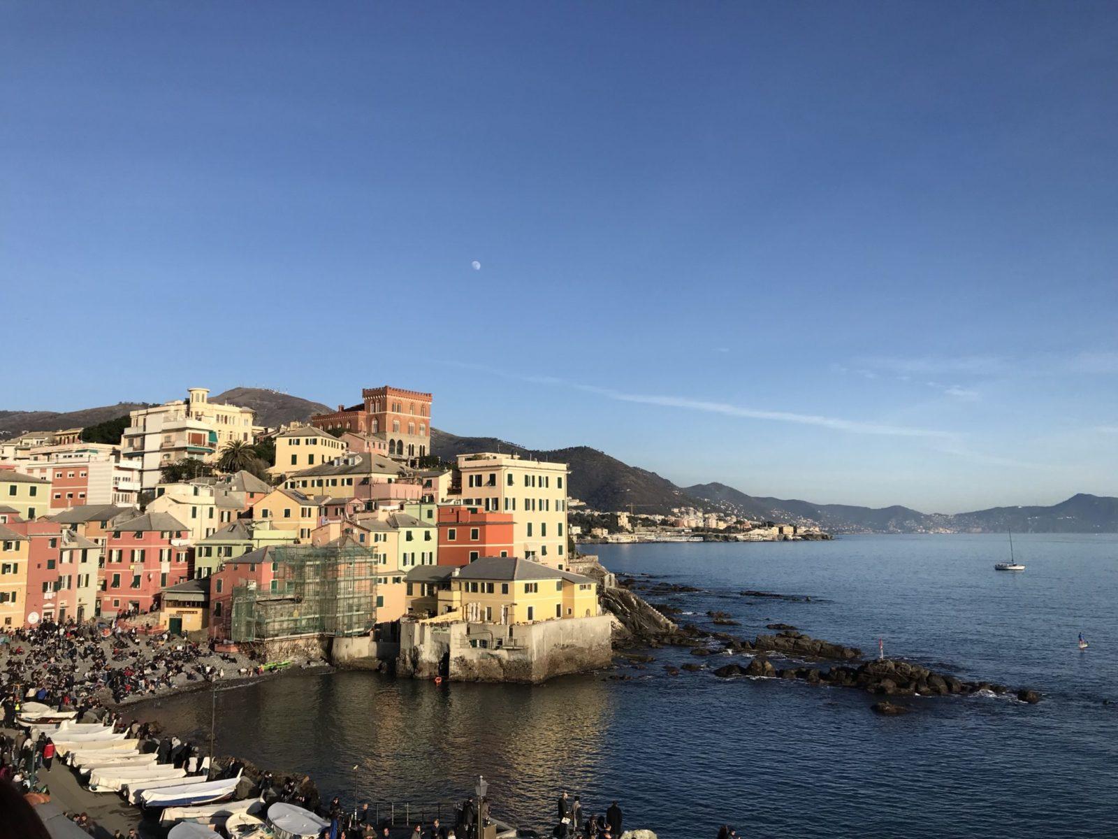 fotografia di Boccadasse di Genova