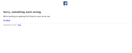 facebook off-line