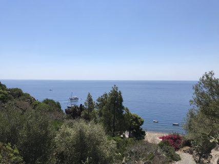 Vista dall'isola di Alicudi